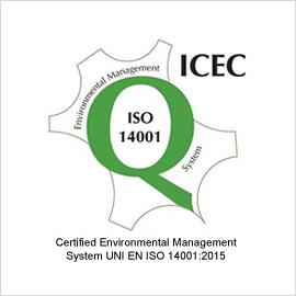certificato del sistema di gestione ambientale 14001