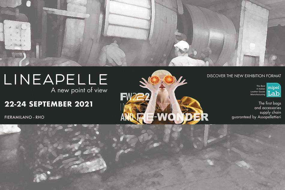 locandina LINEAPELLE Milano 22 - 24 Settembre 2021